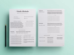 Etsy Resume Template - Beautiful Resume for Physiotherapist Looking for Similar One Find