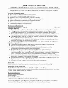 Event Coordinator Resume Template - event Planner Resumes