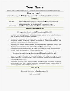 Executive assistant Resume Template Word - Executive assistant Resume Samples Examples Word – Free Templates