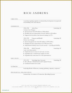 Expanded Resume Template - How to Write A Cover Letter for Retail Mock Resume Templates Lovely