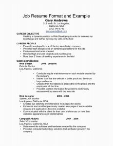 Expanded Resume Template - 29 Best Corporate Resume Template format