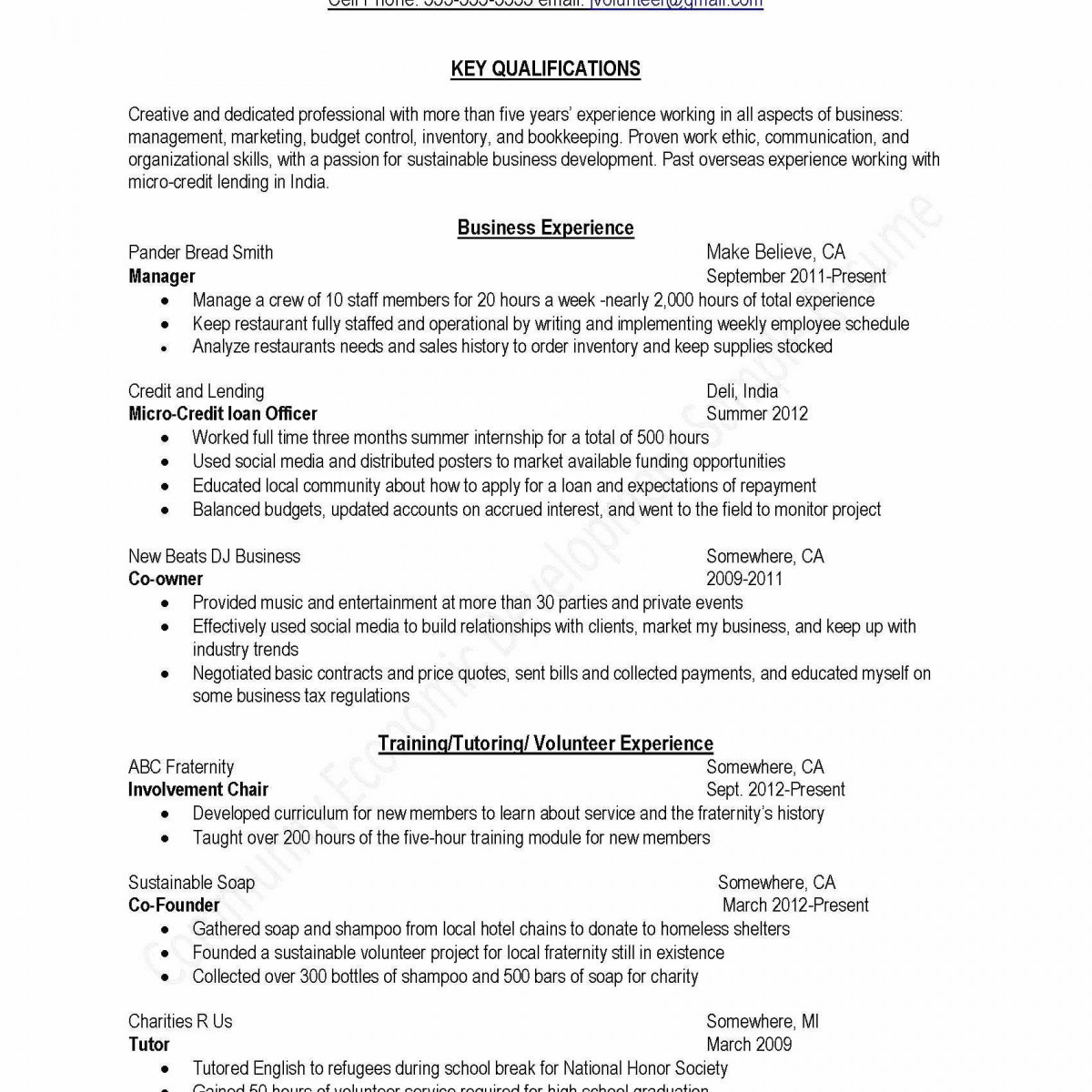 14 extracurricular activities resume template examples
