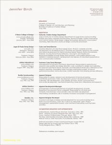 Fashion Design Resume Template - Fashion Model Resume Fresh Fashion Resume Templates Lovely 22