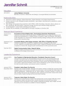 Federal Resume Template 2014 - 25 New Federal Government Resume