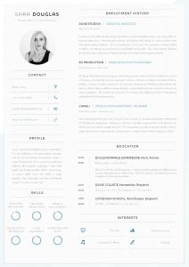 Film Production Resume Template - 43 Modern Resume Templates