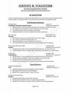First Year Teacher Resume Template - Elementary Education Resume Fresh First Time Teacher Resume Fresh