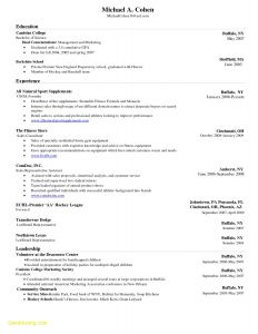 Fitness Resume Template - Fitness Resume Template Awesome Professional Resume Templates for