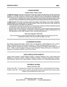 Flight attendant Resume Template - Free Resume Templates Downloads for Word Paragraphrewriter
