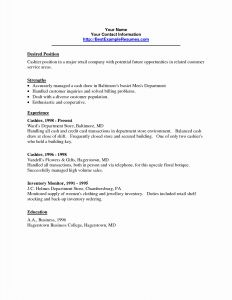 Floral Resume Template - Cashier Customer Service Resume New Customer Service Resume Examples