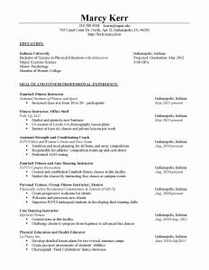 Football Coach Resume Template - College Basketball Coach Resume New Football Coaching Resume Samples