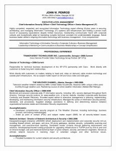 Gatech Resume Template - Georgia Tech Resume Template Unique It Resume Templates Amazing It