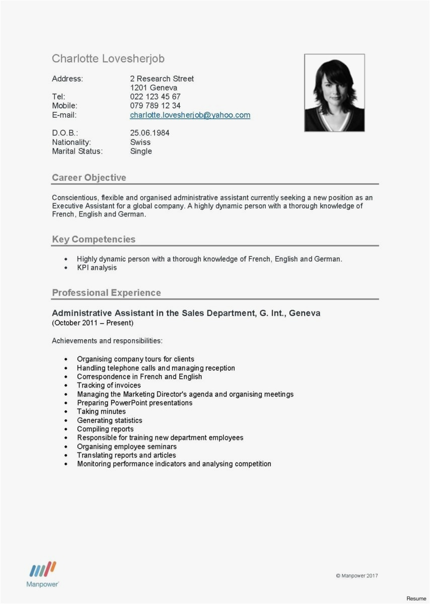 11 german resume template collection