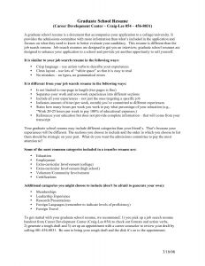 Grad School Resume Template - 28 Exotic Resume for Graduate School Application Chart Stock