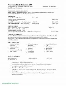 Graduate Nurse Resume Template Free - 25 New Free Nursing Resume Templates