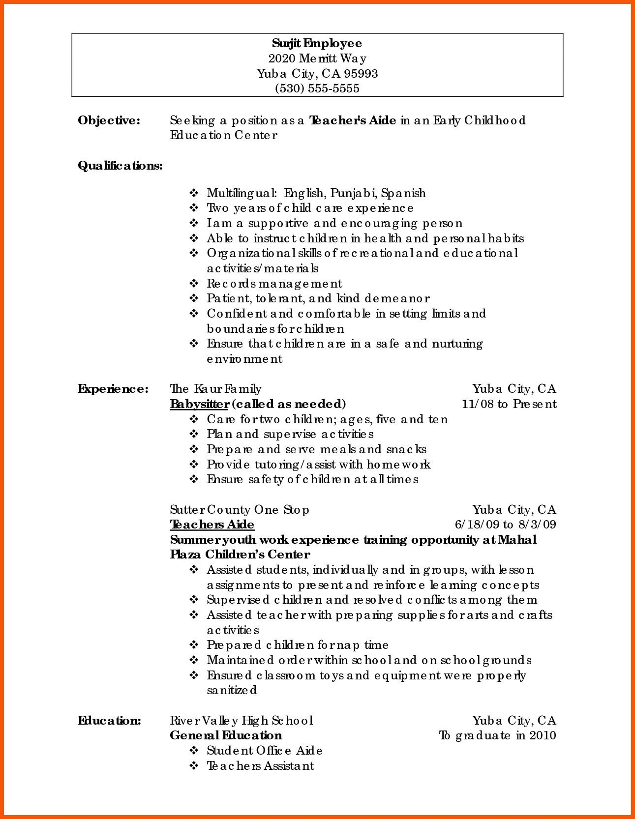 hair stylist resume template Collection-Examples Resume for Hairstylist Related Post 15-f