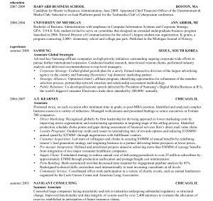 Hbs Resume Template - Harvard Resume Template Free Professional Resume Templates