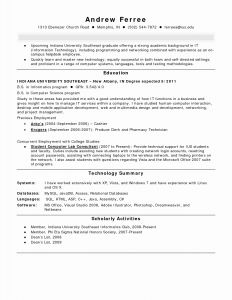 Helpdesk Resume Template - Resume for Information Technology Graduate New Help Desk Access