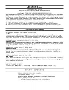 High School Graduate Resume Template Microsoft Word - 18 Awesome Examples Resumes for High School Students
