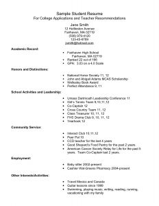 High School Graduate Resume Template Microsoft Word - Sample Resume for Recent High School Graduate Simple Resume for
