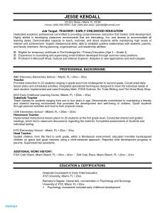 High School Resume Template Microsoft Word - Resume Examples for Teacher assistant Elegant Resume for Highschool
