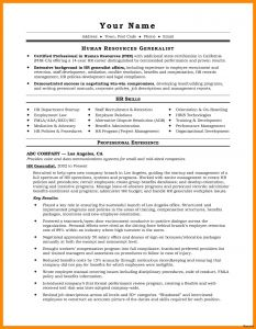 Hr Generalist Resume Template - 55 Best Project Manager Resume Objective