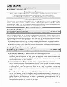 Hr Generalist Resume Template - Human Resources Sample Resume Unique Rn Bsn Resume Awesome Nurse