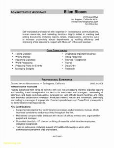 Hr Manager Resume Template - Resume Sample for Hr Manager Elegant Hr Manager Resume New American