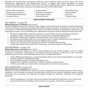 Hr Manager Resume Template - 24 Hr Manager Resume Sample