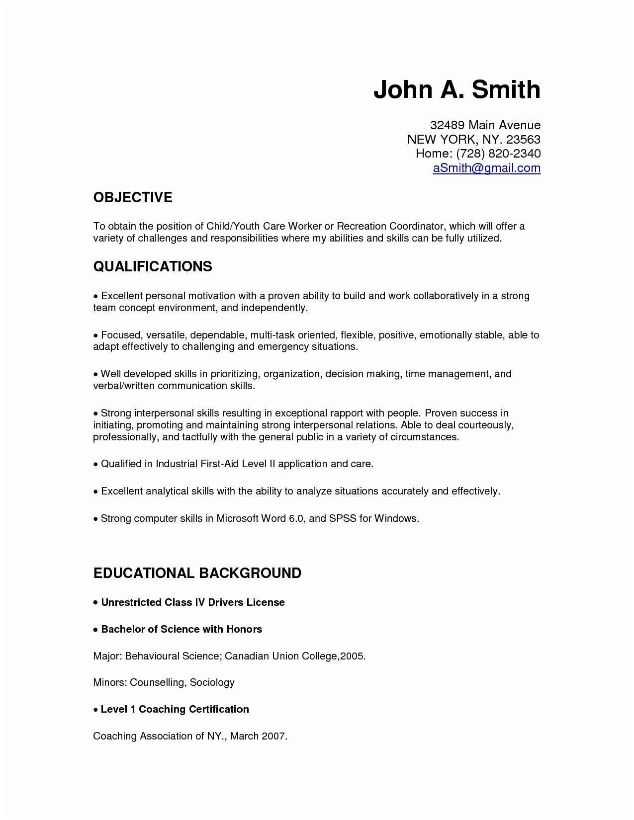 hr manager resume template example-Sample Hr Manager Resume Templates New Make A Resume Basic Resume Template New Ivoice Template 0d 16-h