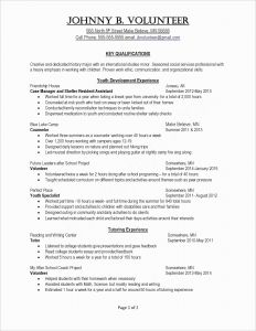 Human Services Resume Template - Resume Writer Free Inspirational Writing A Resume Template Unique Pr