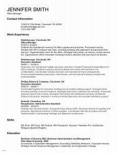 Hvac Resume Template - Emt Resume Examples New Emt Resume Hvac Resume Template Resume