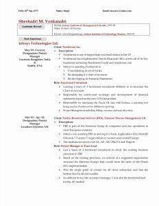 Internship Resume Template Word - 50 Luxury Words with the Letter J