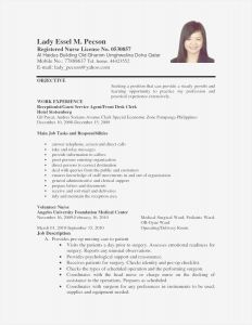 Janitorial Resume Template - Custodian Sample Resume