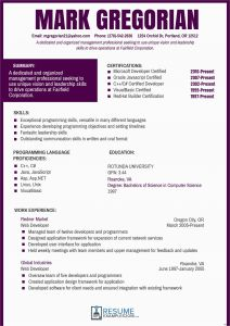 Javascript Resume Template - Curriculum Template Free Model Cv Template for Hospitality Industry
