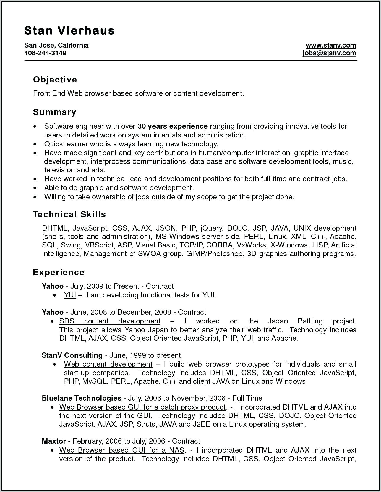10 jsom resume template collection