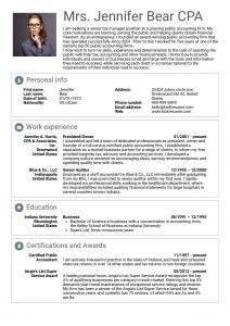 Kelley Resume Template - Senior Executive Resume Examples