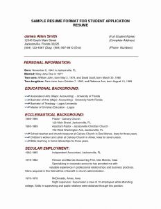 Kelley Resume Template - Resume format for Mba Save Mba Resume Sample New Best Kelley School