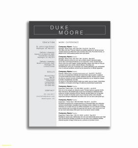 Ken Coleman Resume Template - Resume Template Word Download Lovely 30 Lovely Collection Resume
