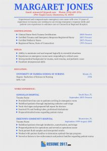 Law Enforcement Resume Template - 22 Sample Nursing Resume Picture
