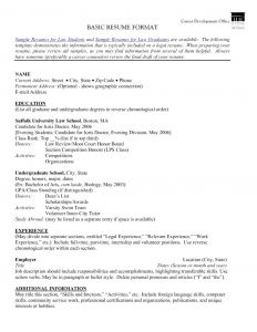 Law School Resume Template - 53 New Resume Cover Letter Sample