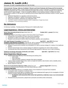 Law Student Resume Template - Law Resume Best Legal Resume Examples Law Student Resume Template