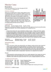 Leeds Resume Template - Executive Cv Crossword Template Resume Example Senior Chief