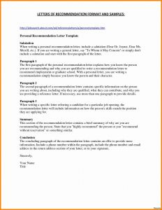 Letter Of Recommendation Resume Template - Resume Template for Sales Job Recent Sales Resume Template Best 51