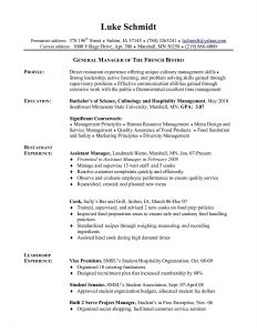 Line Cook Resume Template - 18 Line Cook Resume