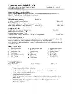 Lpn Resume Template - How to Write A Resume for A Nursing Job Simple Entry Level Lpn