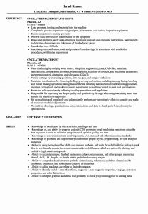 Machinist Resume Template - 28 Best Stock Entry Level Machinist Resume Examples