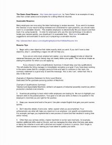 Maintenance Resume Template - Interest Section Resume Examples Fresh Sample Hobbies and