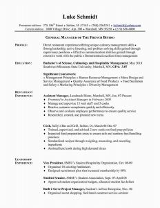 Marshall Resume Template - Chef Resume Download Resume Education Example Awesome Chef Resume