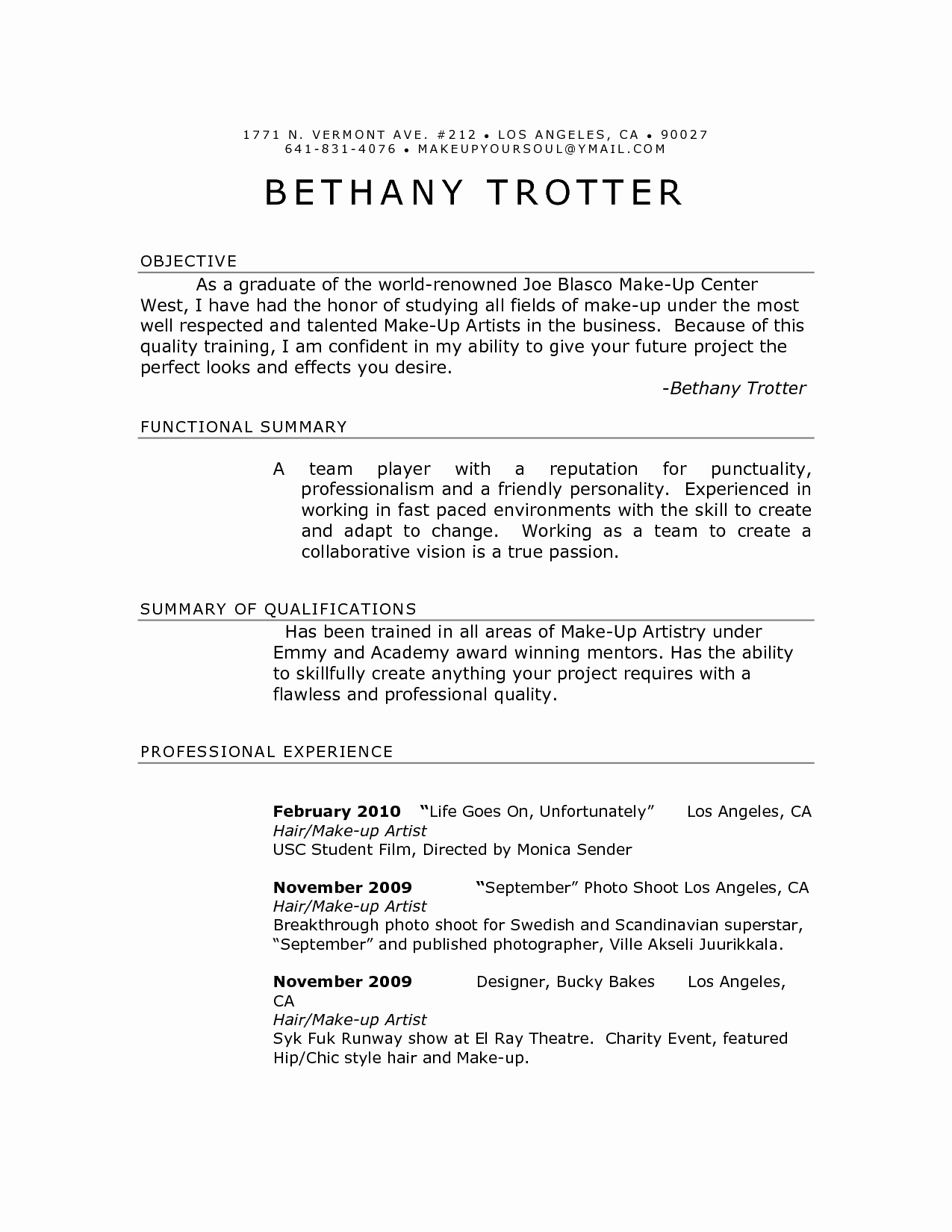 14 marshall resume template ideas