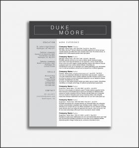 Marshall Resume Template - Usc Marshall Resume Template Usc Marshall Business Cards Image